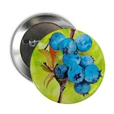 "Blueberries 2.25"" Button"