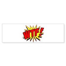 WTF! Car Sticker