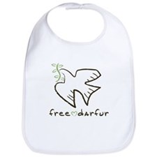 Free Darfur, Sudan Bib