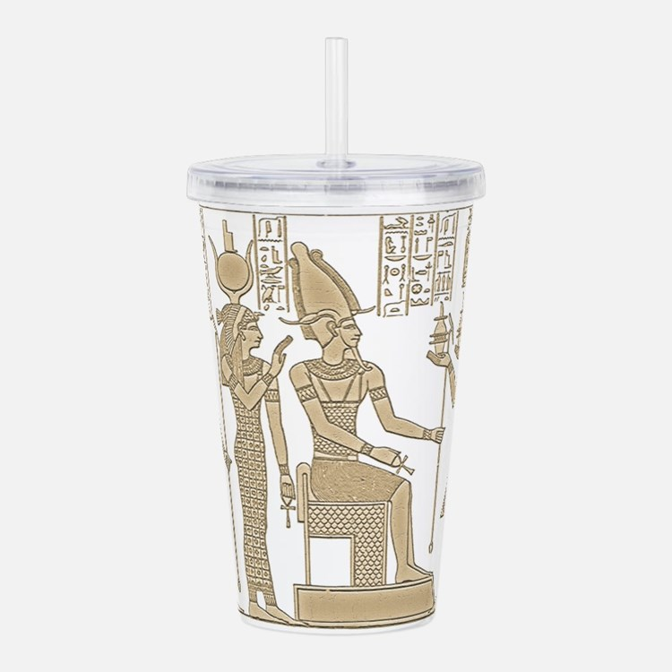 Egyptian Panel Acrylic Double-wall Tumbler