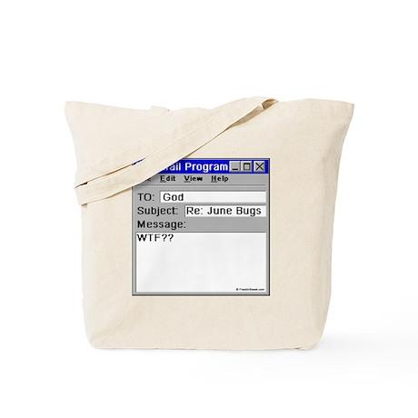 June Bugs: WTF? Tote Bag