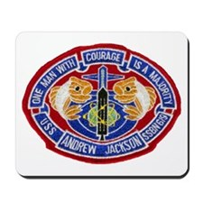 USS ANDREW JACKSON Mousepad