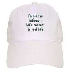 Connect in Real Life Baseball Cap