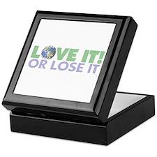 Love It or Lose it Keepsake Box