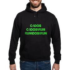 C:\DOS\RUN Hoodie