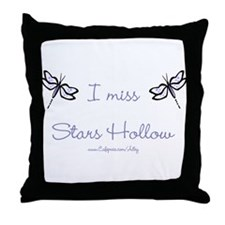 I Miss Stars Hollow Throw Pillow