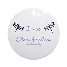 I Miss Stars Hollow Ornament (Round)
