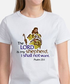 The Lord is my sheperd, Psalm 23:1 Tee