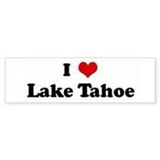I Love Lake Tahoe Bumper Bumper Sticker