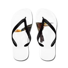 Funny Bird lovers Flip Flops