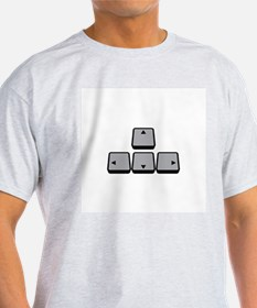 Up, Down, Left, Right T-Shirt