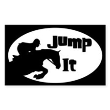 Cool Horse jumping Decal