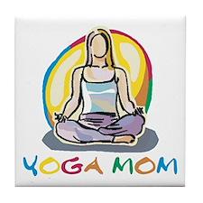 Yoga Mom Tile Coaster