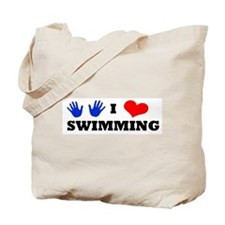 I Luv Swimming Tote Bag