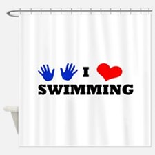 Swimming coach shower curtains swimming coach fabric Swimming pool shower curtain