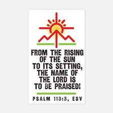 From the rising of the sun, Ps Decal
