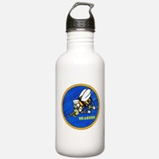 US Navy SeaBees Water Bottle