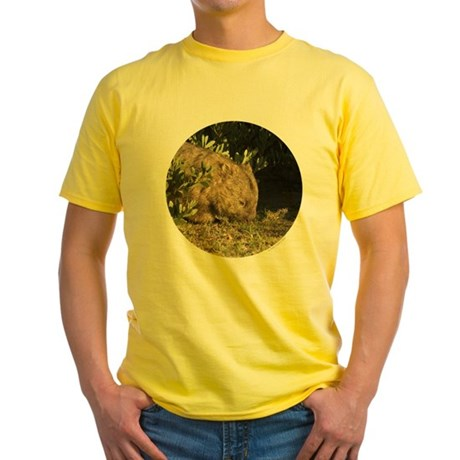 Wombat Yellow T-Shirt