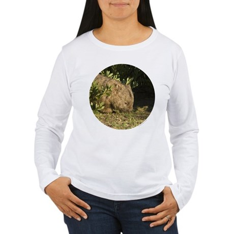 Wombat Women's Long Sleeve T-Shirt