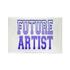 Future Artist Rectangle Magnet (100 pack)