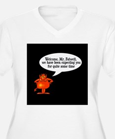 Welcome to Hell Jerry Falwell T-Shirt
