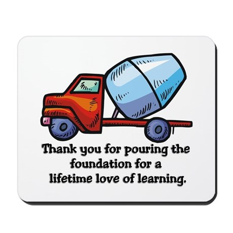 Thank you teacher gifts Mousepad