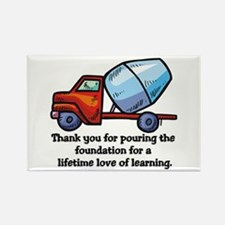 Thank you teacher gifts Rectangle Magnet (10 pack)