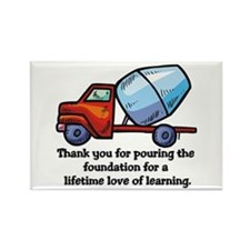 Thank you teacher gifts Rectangle Magnet