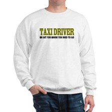 Funny Taxi Driver Sweatshirt