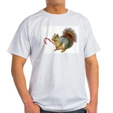 Squirrel Candy Cane T-Shirt