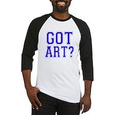 Got Art? Baseball Jersey
