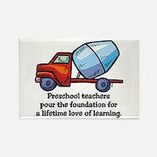 Preschool Teacher Gift Ideas Rectangle Magnet (10