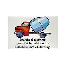 Preschool Teacher Gift Ideas Rectangle Magnet (100