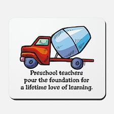 Preschool Teacher Gift Ideas Mousepad