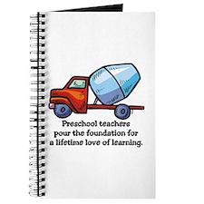 Preschool Teacher Gift Ideas Journal