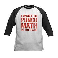 Punch Math In The Face Baseball Jersey