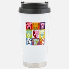 Cute Pitt bulls Travel Mug