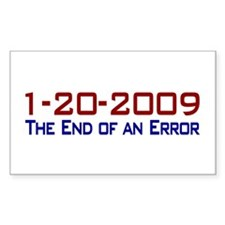 End of an Error Rectangle Decal