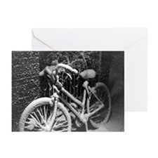 Winter Bicycle Greeting Cards (Pk of 10)
