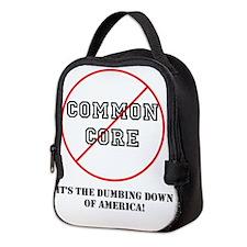 Cute Education Neoprene Lunch Bag