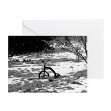 Winter Tricycle Greeting Cards (Pk of 10)