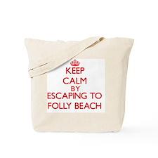 Cool Folly beach Tote Bag