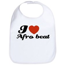 I love Afro beat Bib