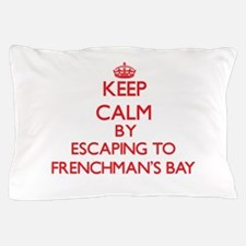 Cute Frenchmans bay Pillow Case
