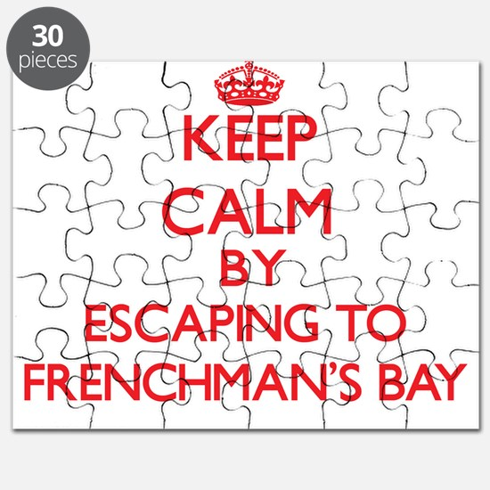Cute Frenchmans bay Puzzle