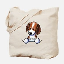 Pocket Beagle Tote Bag