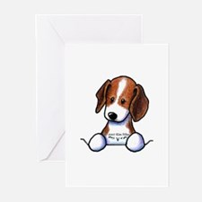Pocket Beagle Greeting Cards (Pk of 10)