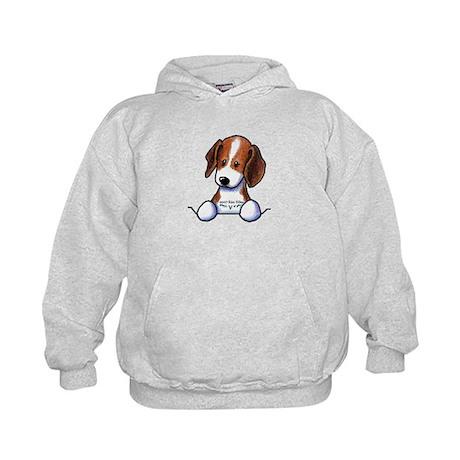 Pocket Beagle Kids Hoodie