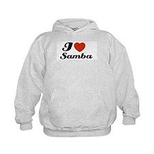 I love Samba Hoodie