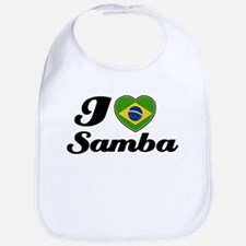 I love Samba Bib